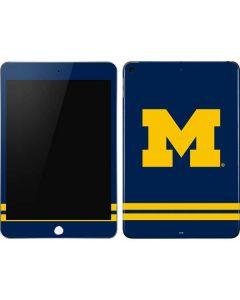 Michigan Logo Striped Apple iPad Mini Skin