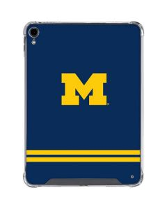 Michigan Logo Striped iPad Pro 11in (2018-19) Clear Case