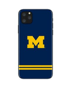 Michigan Logo Striped iPhone 11 Pro Max Skin