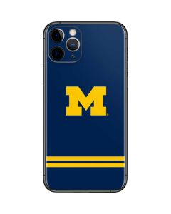 Michigan Logo Striped iPhone 11 Pro Skin