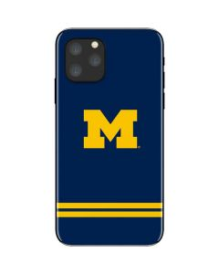 Michigan Logo Striped iPhone 11 Pro Skin