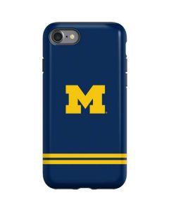Michigan Logo Striped iPhone SE Pro Case