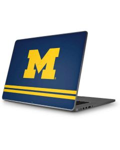 Michigan Logo Striped Apple MacBook Pro 17-inch Skin