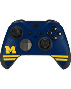 Michigan Logo Striped Xbox Elite Wireless Controller Series 2 Skin