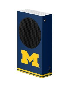 Michigan Logo Striped Xbox Series S Console Skin