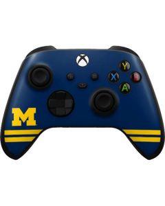 Michigan Logo Striped Xbox Series X Controller Skin