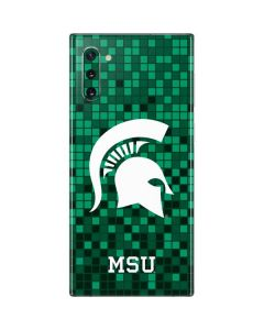 Michigan State Spartans Digital Pixels Galaxy Note 10 Skin