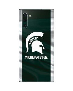 Michigan State University Away Grey Jersey Galaxy Note 10 Skin