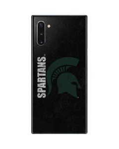 Michigan State University Bold Spartans Logo Galaxy Note 10 Skin