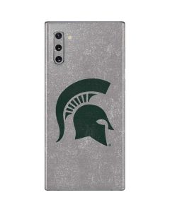 Michigan State University Grey Spartans Logo Galaxy Note 10 Skin