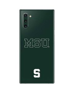 Michigan State University MSU Letters Galaxy Note 10 Skin