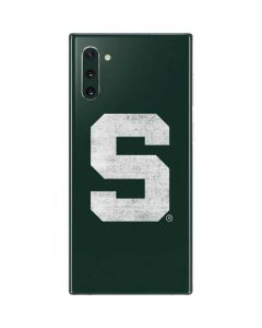Michigan State University Spartans Away Grey S Galaxy Note 10 Skin