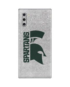 Michigan State University Spartans Half Logo Galaxy Note 10 Skin