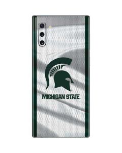 Michigan State University Spartans Jersey Galaxy Note 10 Skin