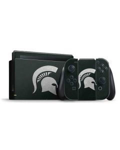Michigan State University Spartans Logo Nintendo Switch Bundle Skin
