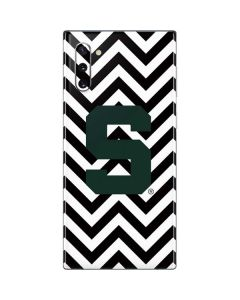 Michigan State University Spartans S Chevron Galaxy Note 10 Skin