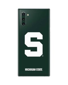 Michigan State University Spartans S Galaxy Note 10 Skin