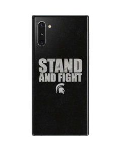 Michigan State University Stand and Fight Galaxy Note 10 Skin