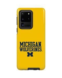 Michigan Wolverines Galaxy S20 Ultra 5G Pro Case