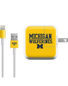 Michigan Wolverines iPad Charger (10W USB) Skin