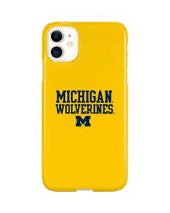 Michigan Wolverines iPhone 11 Lite Case