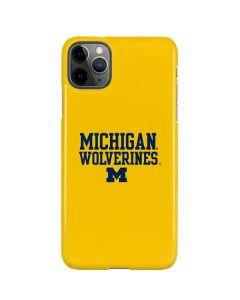 Michigan Wolverines iPhone 11 Pro Max Lite Case