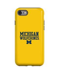 Michigan Wolverines iPhone SE Pro Case