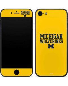 Michigan Wolverines iPhone SE Skin