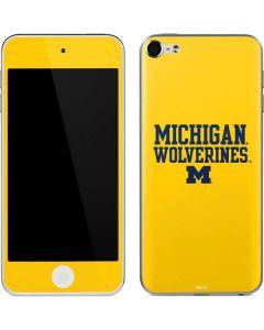 Michigan Wolverines Apple iPod Skin