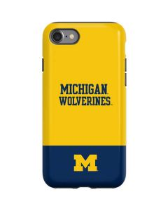 Michigan Wolverines Split iPhone SE Pro Case