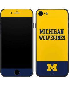 Michigan Wolverines Split iPhone SE Skin