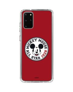 Mickey Mouse All Star Galaxy S20 Plus Clear Case