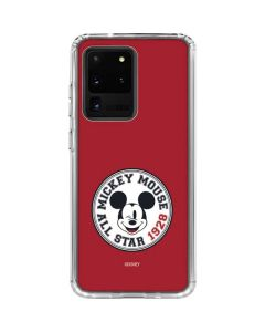 Mickey Mouse All Star Galaxy S20 Ultra 5G Clear Case