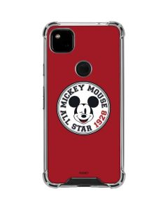 Mickey Mouse All Star Google Pixel 4a Clear Case