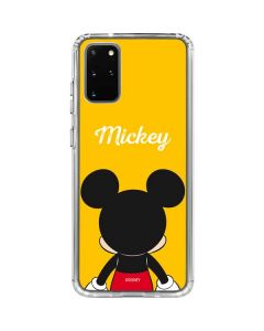 Mickey Mouse Backwards Galaxy S20 Plus Clear Case