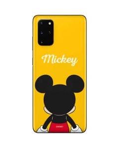 Mickey Mouse Backwards Galaxy S20 Plus Skin