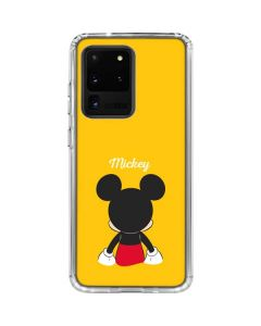 Mickey Mouse Backwards Galaxy S20 Ultra 5G Clear Case
