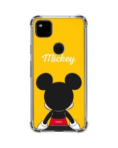 Mickey Mouse Backwards Google Pixel 4a Clear Case
