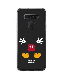 Mickey Mouse Body LG K51/Q51 Clear Case