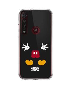 Mickey Mouse Body Moto G8 Plus Clear Case