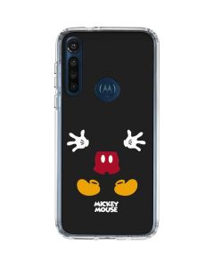Mickey Mouse Body Moto G8 Power Clear Case