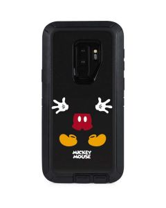 Mickey Mouse Body Otterbox Defender Galaxy Skin