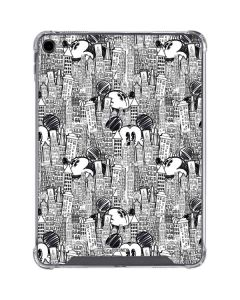 Mickey Mouse Cityscape Sketch iPad Pro 11in (2018-19) Clear Case