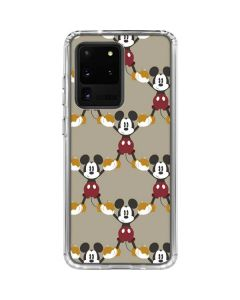 Mickey Mouse Formation Galaxy S20 Ultra 5G Clear Case