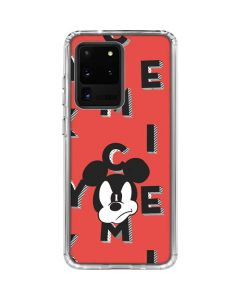 Mickey Mouse Grumpy Galaxy S20 Ultra 5G Clear Case