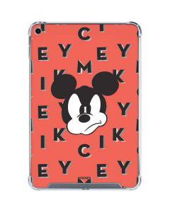 Mickey Mouse Grumpy iPad Mini 5 (2019) Clear Case