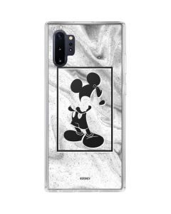 Mickey Mouse Marble Galaxy Note 10 Plus Clear Case