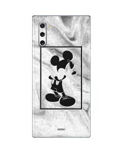 Mickey Mouse Marble Galaxy Note 10 Skin