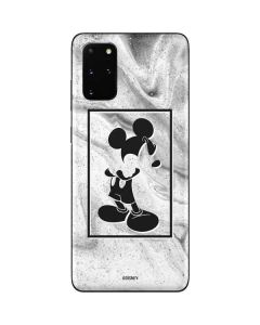 Mickey Mouse Marble Galaxy S20 Plus Skin
