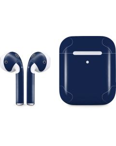 Midnight Blue Apple AirPods 2 Skin